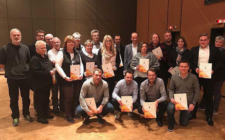 Auszeichnung für die hervorragende Jugendarbeit des TCM